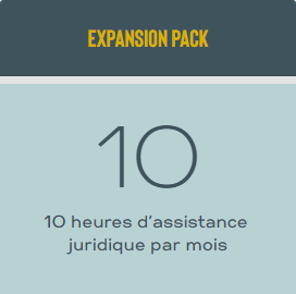 Expansion Pack 10 heures | 1 Mois
